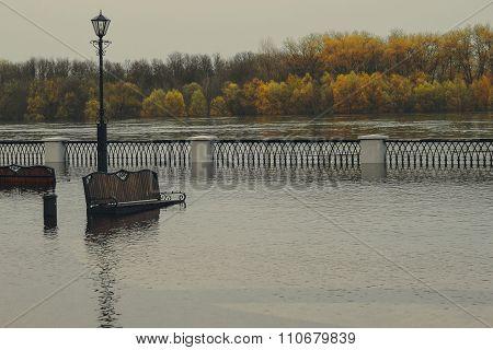 Flooded Embankment