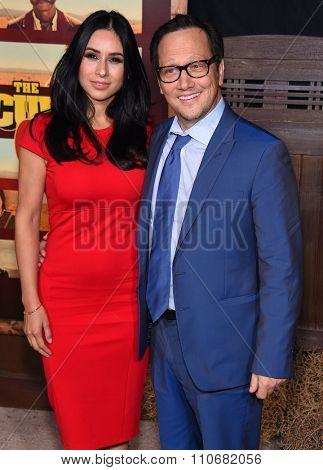 LOS ANGELES - NOV 30:  Rob Schneider & Patricia Schneider arrives to the