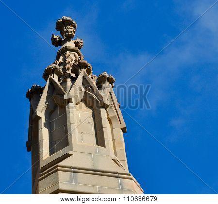 Federation Gothic Detail: St. Patrick's Basilica in Fremantle, Australia