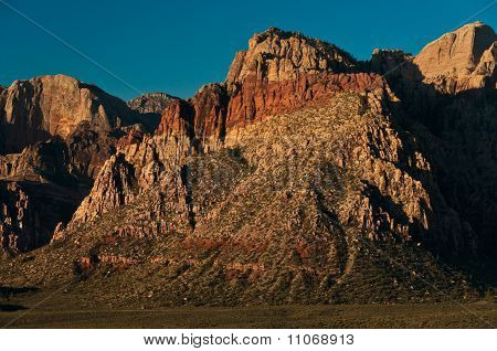 The Rim Of Red Rock Canyon