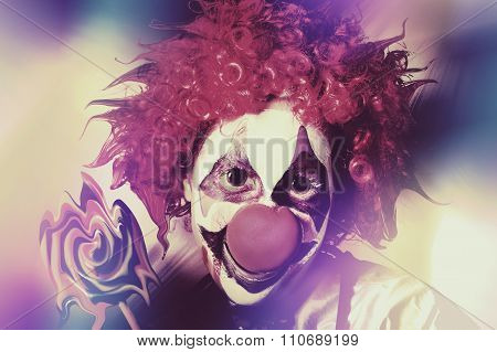 Droopy The Clown With Mind Bending Magic