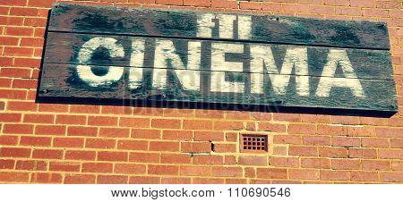 Cinema Sign: Film and Television Institute, Fremantle