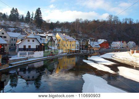 Old town Cesky Krumlov