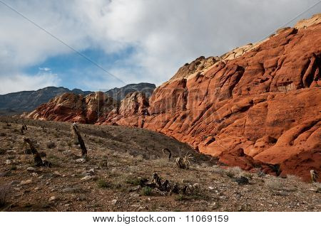 Red Rock Canyon Deep Inside