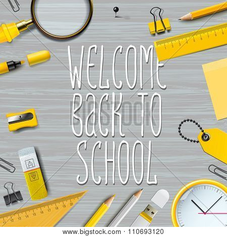 Welcome Back to school template