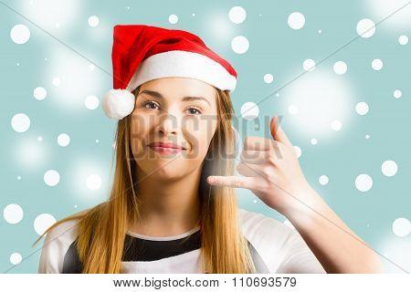 Christmas Calling Girl