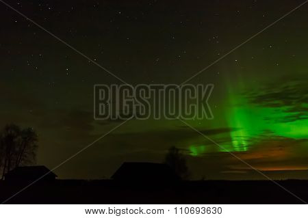 Evening Aurora Borealis