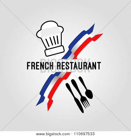 French restaurant icon