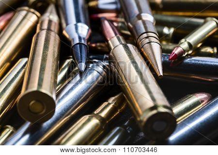Ammunition for firearms