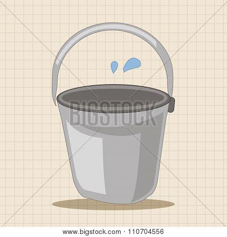 Water Bucket Theme Elements