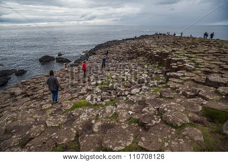 Giant's Causeway Volcanic Formations