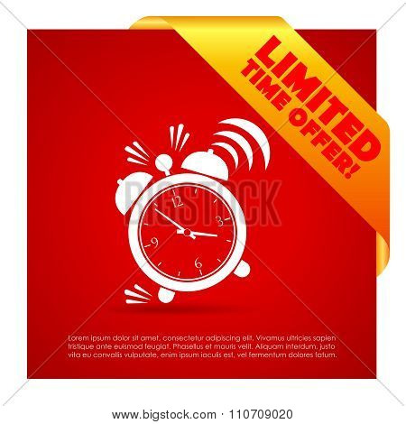 Limited time offer poster