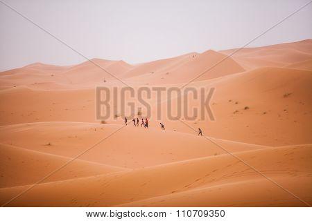Children In The Desert