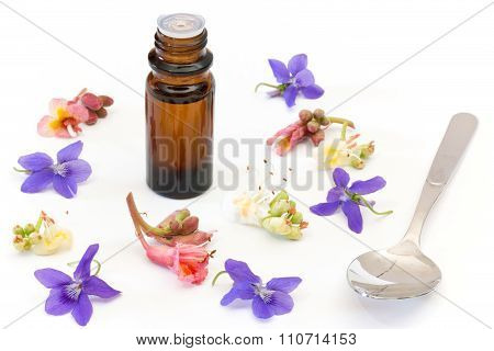 Bach Flowers With Dropper Bottle