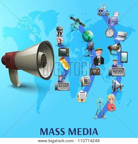 Mass Media Poster