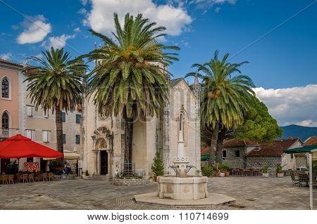 Herceg Novi old town touristic center