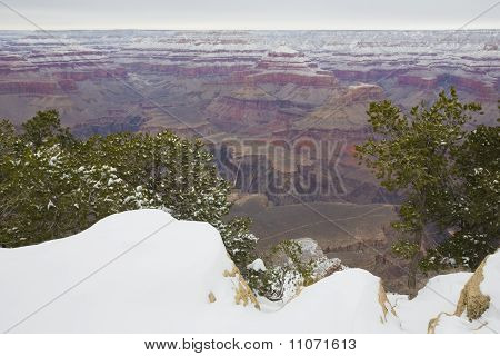 Winter in Grand Canyon, AZ