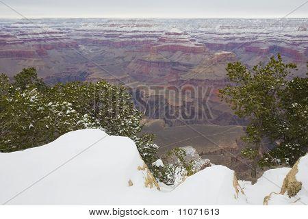 Winter in Grand Canyon, AZ