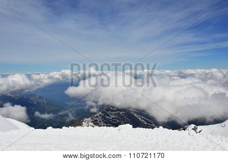 Jungfrau mountain in Switzerland