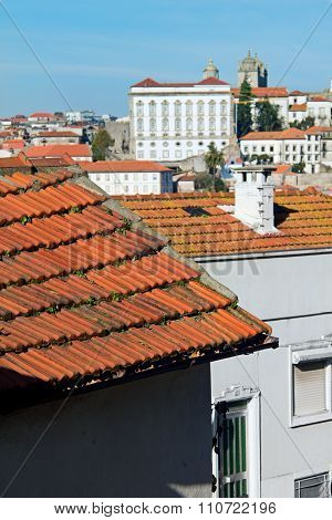 Red Roofs Tile Close-up