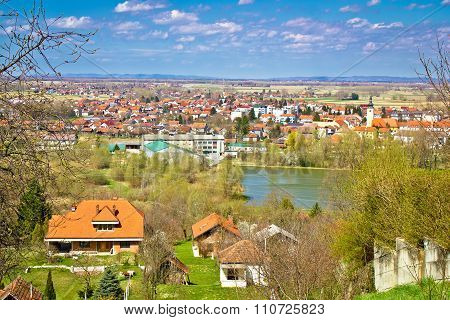 Town Of Ludbreg Springtime View