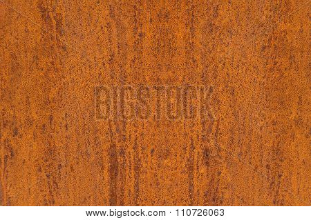 Abstract texture of a rusty metal plate