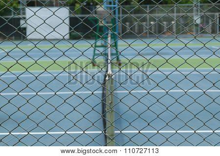 Tennis Court Lattice
