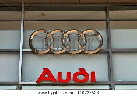 Audi Dealership Logo