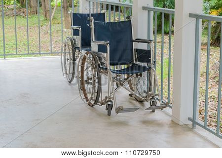 Wheelchair Empty In Hospital