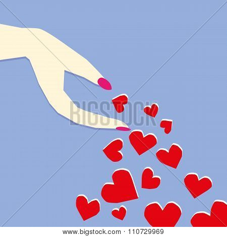 Love or Valentine Concept