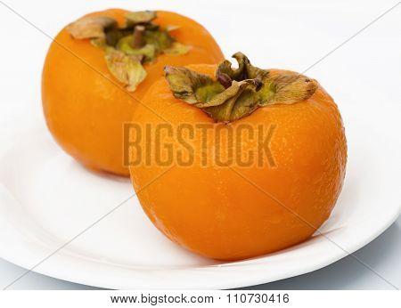 Frozen persimmons