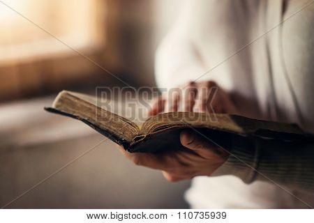 Woman With Bible