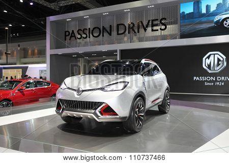 Bangkok - December 1: Mg Car On Display At The Motor Expo 2015 On December 1, 2015 In Bangkok, Thail