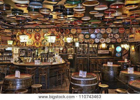 Delirium Cafe In Brussels, Belgium