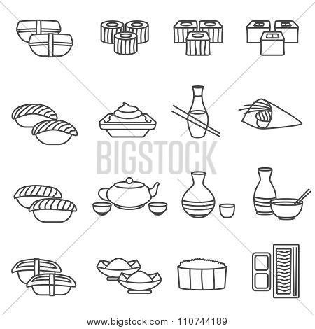Sushi Line Set