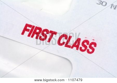 First Class Mail