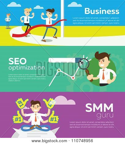 Website SMM and SEO optimization.