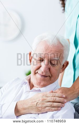 Nurse Giving Somebody Helpful Hand