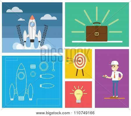 Start up business concept design