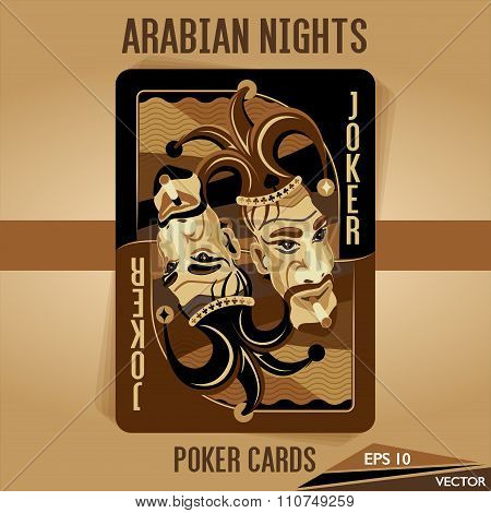 Arabian Nights - Poker Cards - Joker