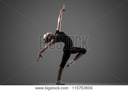 Gymnast Girl Performance