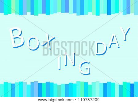Boxing Day Card For Special Price Products