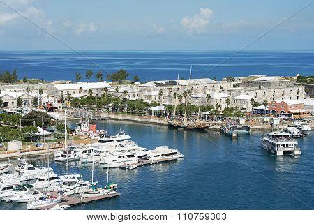 Port In Bermuda Island