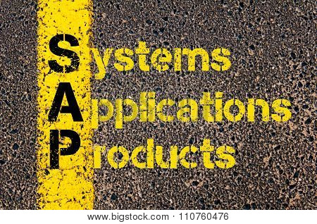 Accounting Business Acronym Sap Systems, Applications, Products