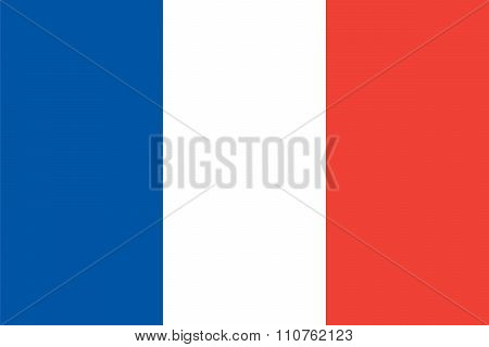 Standard Proportions For France Flag