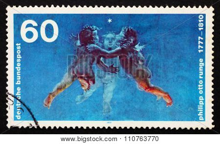 Postage Stamp Germany 1977 Morning