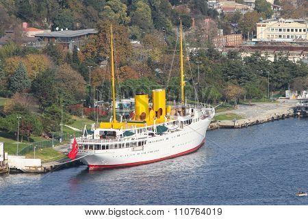 Savarona Sail Ship