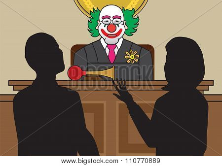 Clown Judge