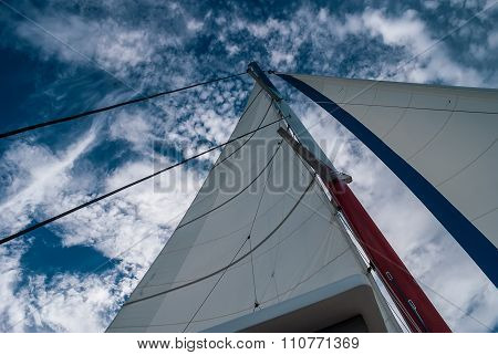 Sail against the sky