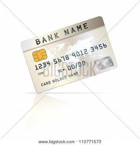 Credit Or Debet Card Design Template